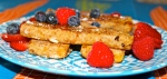 Vanilla Almond French Toast Sticks
