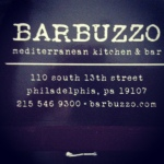 Barbuzzo: Center City